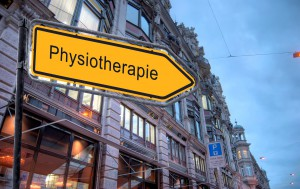 Strassenschild 23 - Physiotherapie
